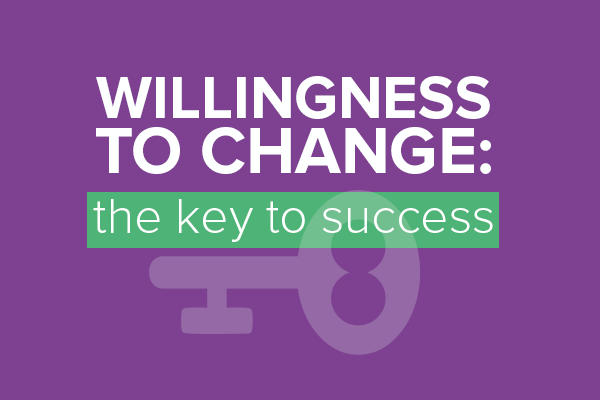 Willingness to change