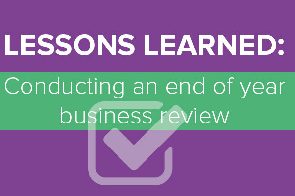 End of year business review